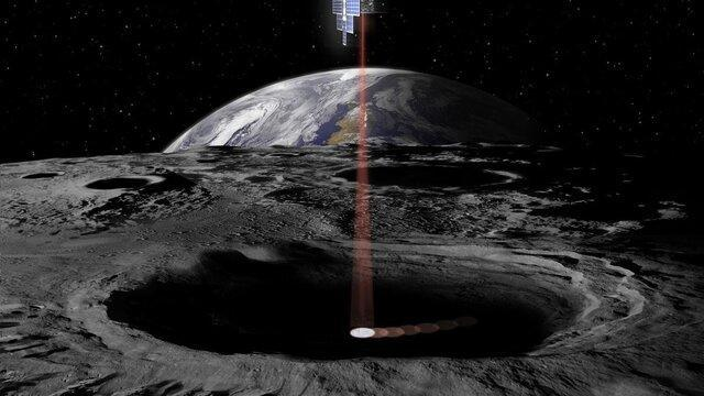 ناسا شکارچی آب به ماه می فرستد