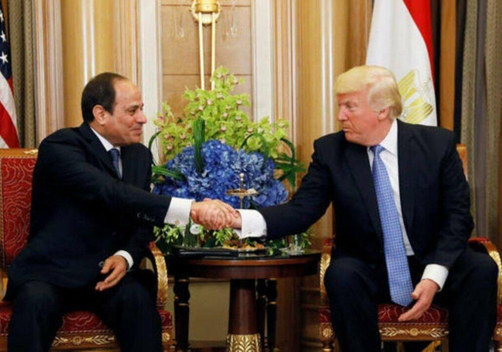 توافق ترامپ و السیسی درباره لیبی