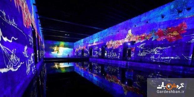 بزرگترین گالری هنر دیجیتال جهان در یک زیردریایی، تصاویر