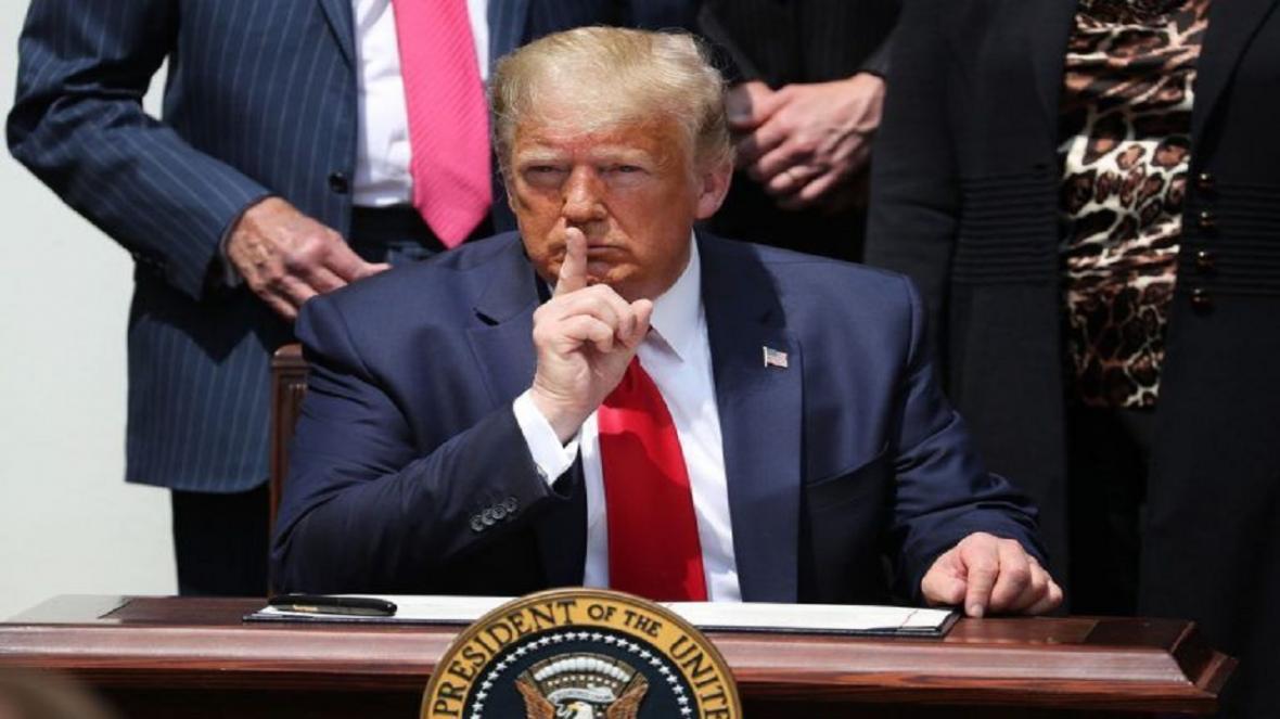 مخفی کاری ترامپ درباره ابتلا به کرونا