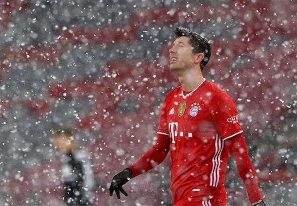 بوندس لیگا، بازگشت داغ بایرن زیر برف مونیخ، تقسیم امتیازات با بیلفلد در ماراتن 6 گله
