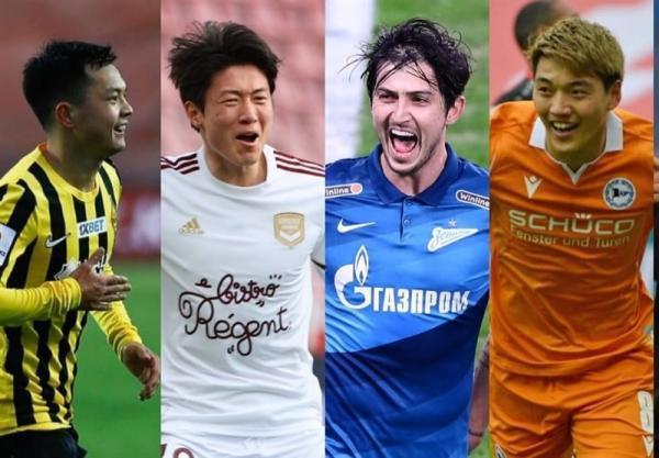 آزمون نامزد بهترین لژیونر هفته فوتبال آسیا شد