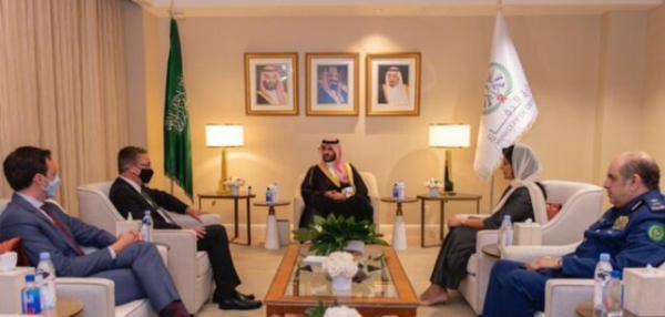 وزیر خارجه آمریکا با معاون وزیر دفاع عربستان ملاقات کرد
